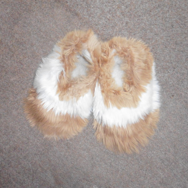 945a753b53ef Alpaca Fur slippers multi - Alpaca Barn Alpaca Clothing and Giftware