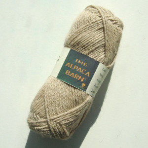 Alpaca Yarn 3ply Light Fawn Double Knit Yarn
